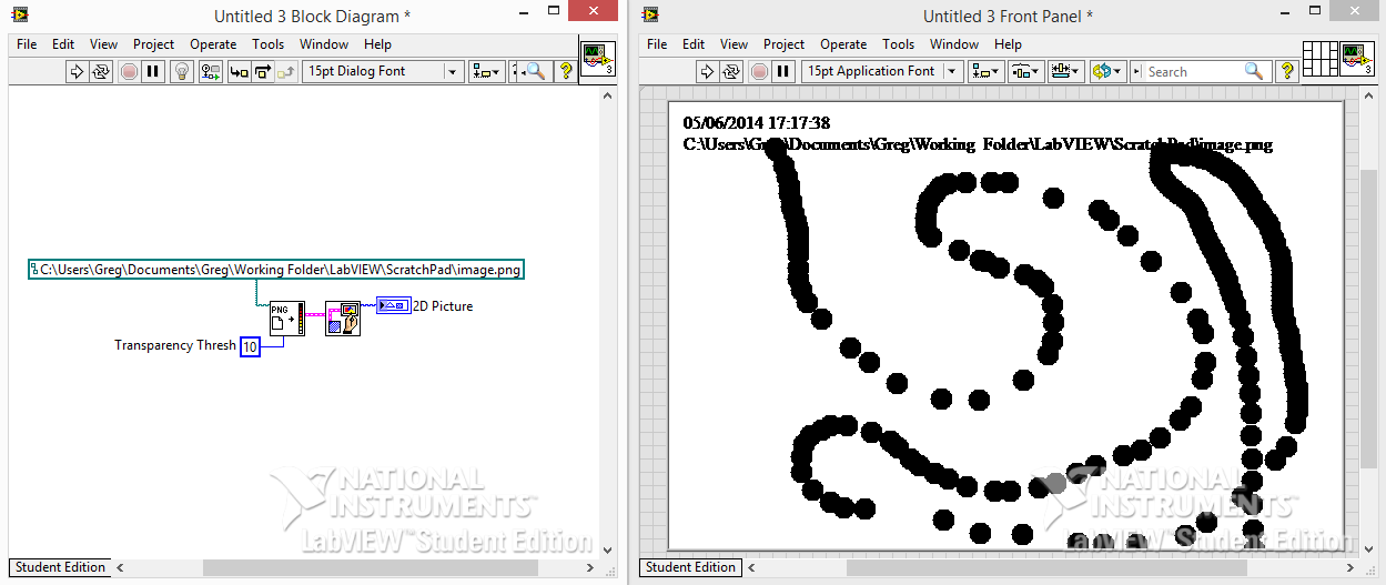 PNG in LabVIEW 2D Picture