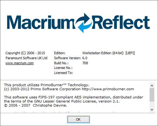 Clone Windows SSD to External USB - Marcrium Reflect