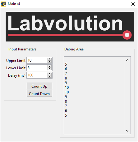 C# LabVIEW Form Application 2