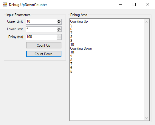 C# LabVIEW Form Application